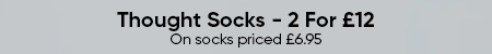 Thought Socks - 2 For £12