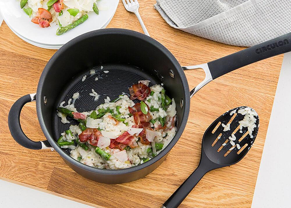 How to clean Circulon non-stick cookware blog - utensils