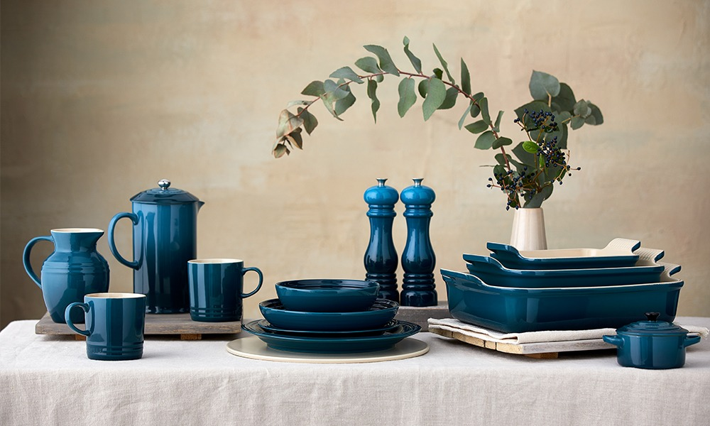 Le Creuset Deep Teal Collection