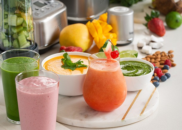 Quick and Delicious recipes using The Super Q Blender from Sage