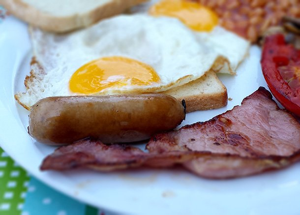 Bacon and Sausages - feature image