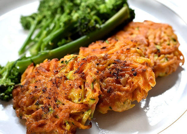 Sweet Potato Fritters Featured Image