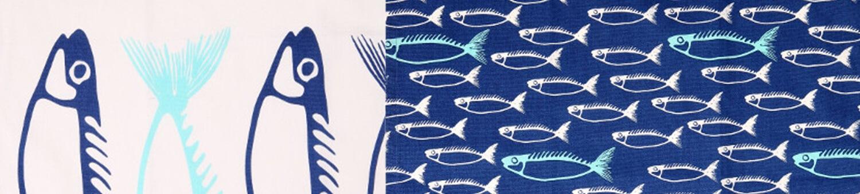 Dexam Fish Textiles