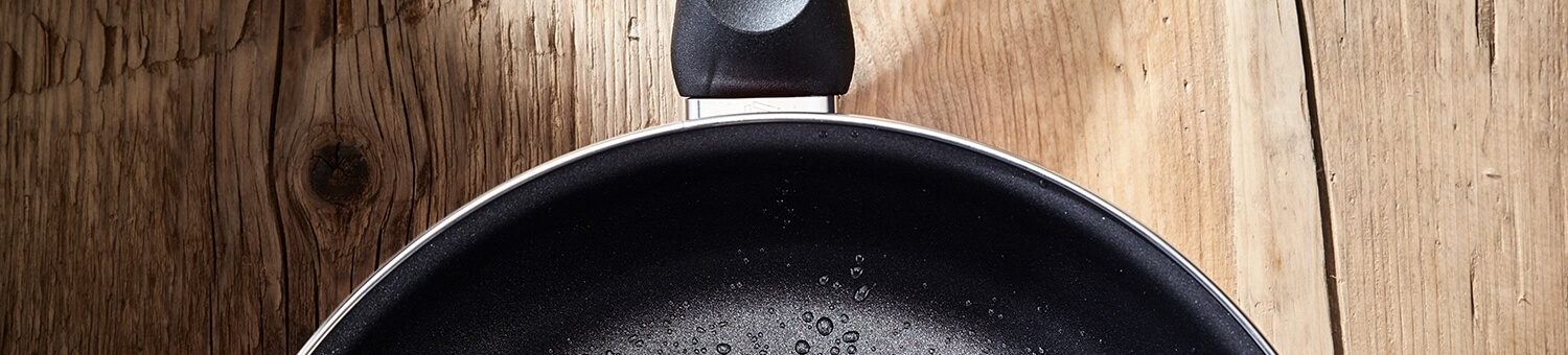 Judge Induction Black Cookware