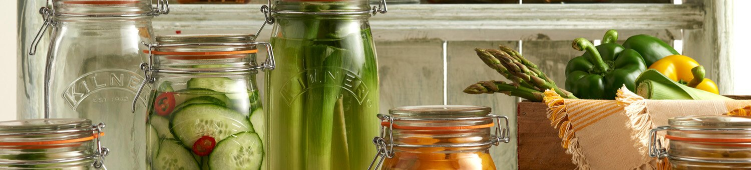 Kilner Twist Top Jars