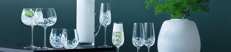 LSA Stipple Glassware