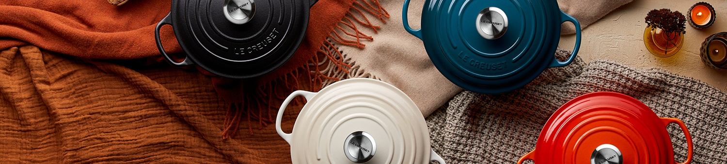 Le Creuset Food Is Love Stoneware