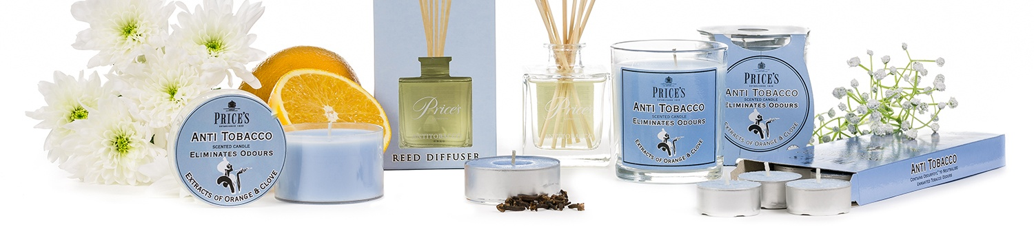 Prices Fresh Air Anti Tobacco Candles