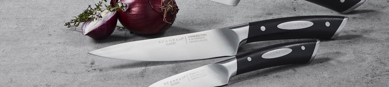 Scanpan Classic Knives & Sharpeners