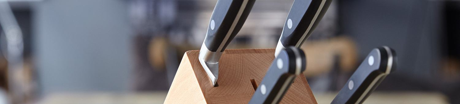 Stellar Sabatier Knives and Knife Block Sets