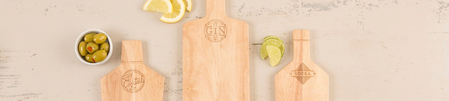 T&G Hevea Chopping Boards