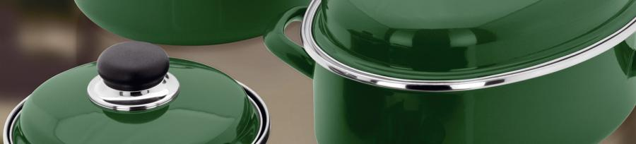 Judge Induction Green Cookware