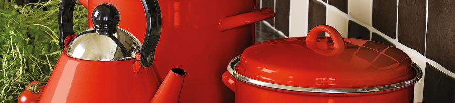 Judge Induction Red Cookware