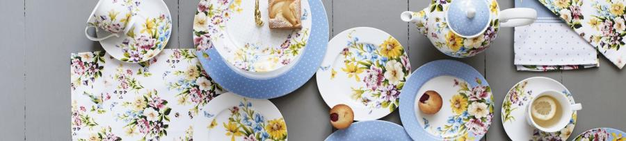 Katie Alice Cottage Flower Dinnerware