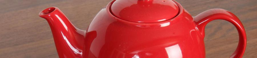 London Pottery Oval Filter 3 Cup Teapot