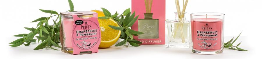 Prices Fresh Air Limited Edition Candles & Reed Diffusers
