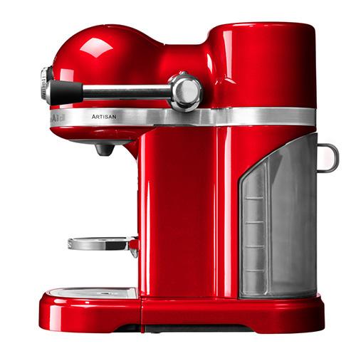 KitchenAid Artisan Nespresso Empire Red Coffee Maker 3