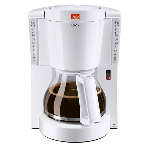 Details About Melitta Look White Filter Coffee Machine 1011 01