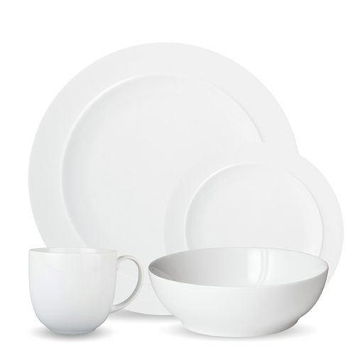 Denby White 16 Piece Tableware Set