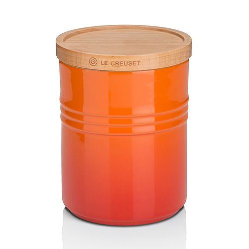 Le Creuset Volcanic Stoneware Medium Storage Jar