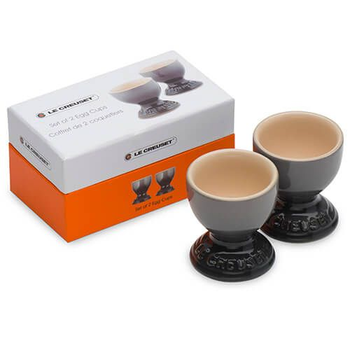 Le Creuset Flint Stoneware Egg Cup Set Of Two