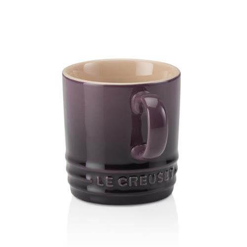 Le Creuset Cassis Stoneware Espresso Mug 3 for 2