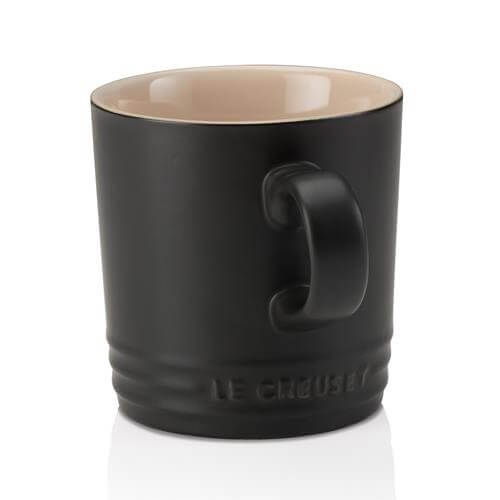 Le Creuset Black Stoneware Mug