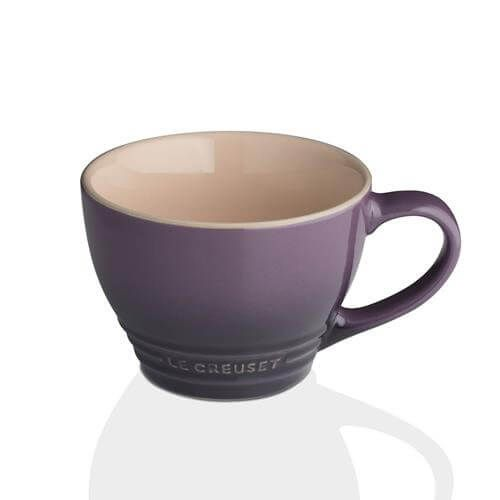 Le Creuset Cassis Stoneware Grand Mug 3 for 2