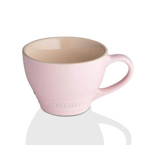 Le Creuset Chiffon Pink Stoneware Grand Mug