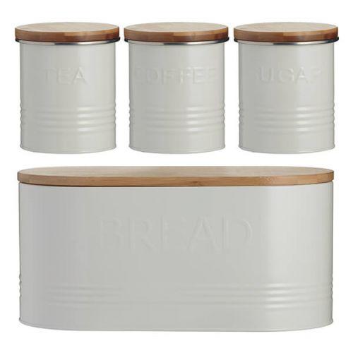 Typhoon 4 Piece Storage Set Cream