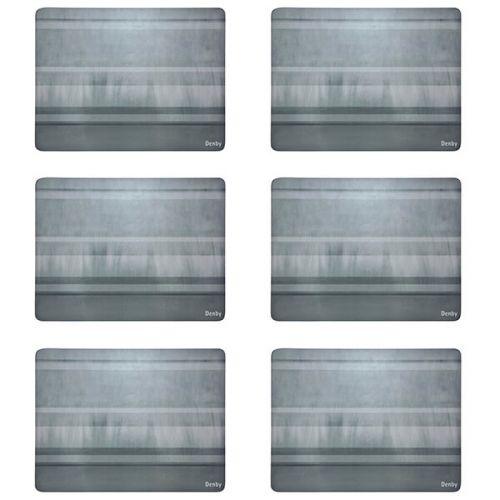 Denby Colours Grey 6 Piece Placemats