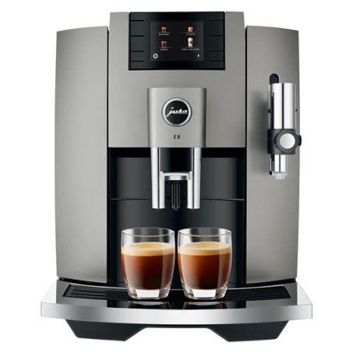 Jura E8 Dark Inox Coffee Machine with FREE Gift