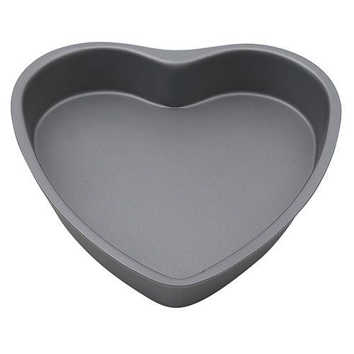 Dexam Bakers Pride Non-Stick Heart Shaped Cake Pan, 20cm