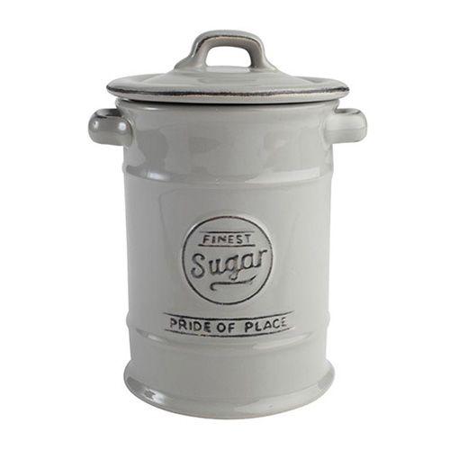 T&G Pride Of Place Sugar Jar Cool Grey