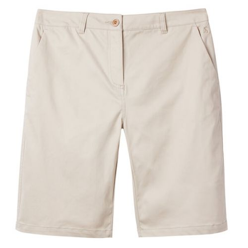 Joules Cruise Long Ivory Longer Length Chino Shorts