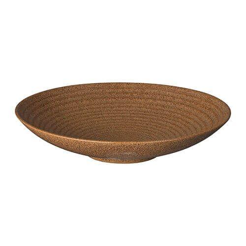 Denby Studio Craft Chestnut Medium Ridged Bowl