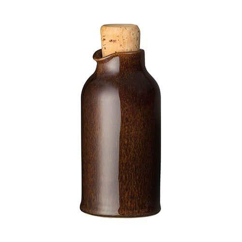 Denby Studio Craft Walnut Oil Bottle