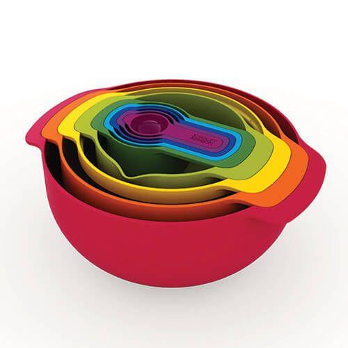 Joseph Joseph Nest 9 Plus (9 Piece Multi Coloured Set)