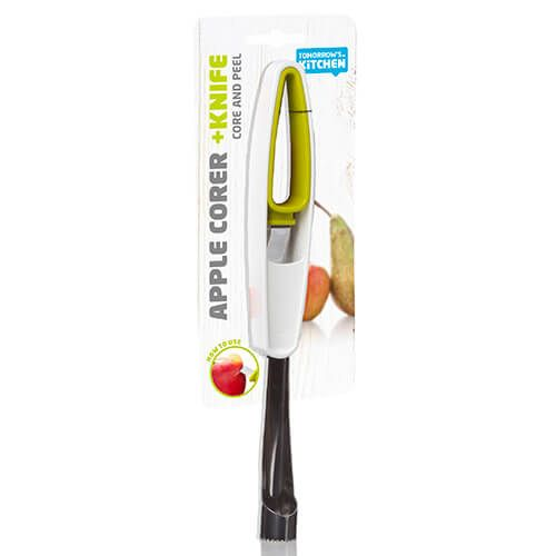 Tomorrow's Kitchen Apple Corer & Knife