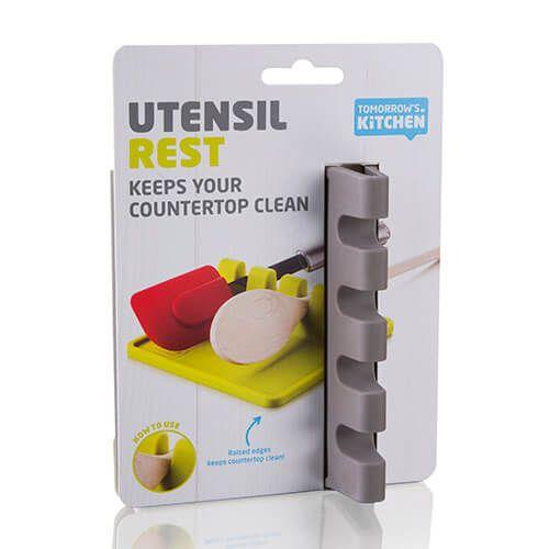 Tomorrow's Kitchen Utensil Rest Grey