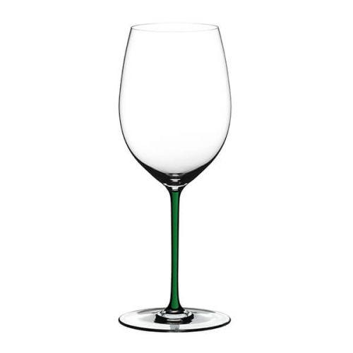 Riedel Hand Made Fatto A Mano Cabernet/Merlot Glass Green