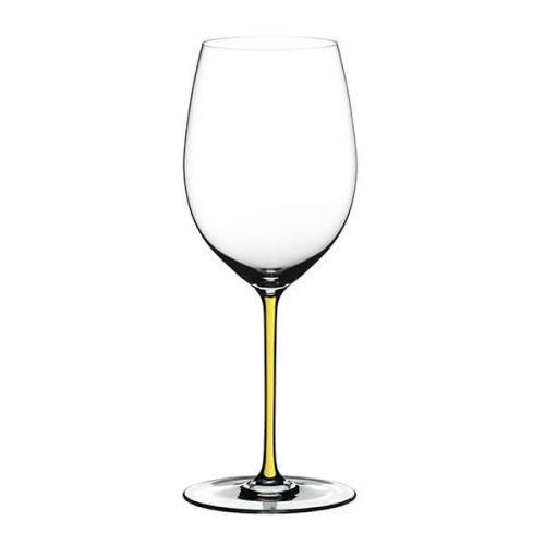 Riedel Hand Made Fatto A Mano Cabernet/Merlot Glass Yellow