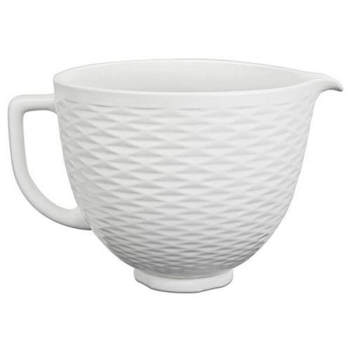KitchenAid Ceramic 4.8L Mixer Bowl Embossed