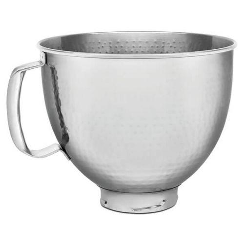 KitchenAid Stainless Steel Hammered Metal 4.8L Mixer Bowl