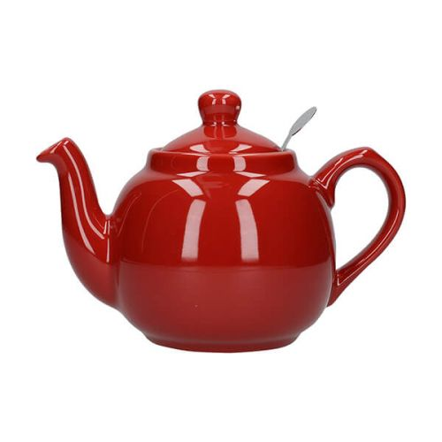 London Pottery Farmhouse Filter 2 Cup Teapot Red