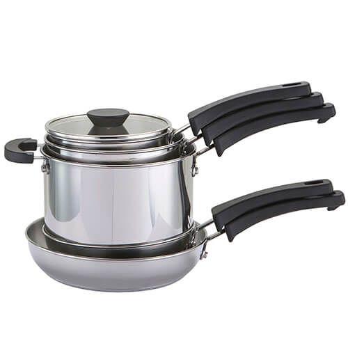 Kitchen Hacks 5 Piece Cookware Set