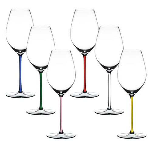 Riedel Hand Made Fatto A Mano Gift Set Champagne Glass Mixed Stems