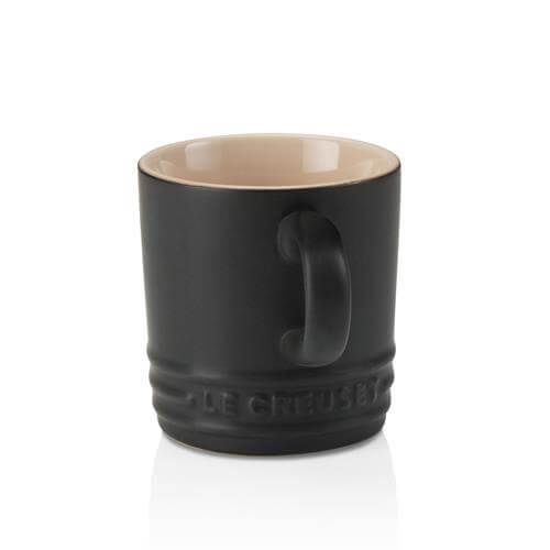 Le Creuset Black Stoneware Espresso Mug