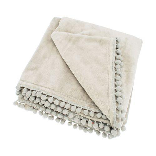 Walton & Co Cashmere Linen Touch Fleece Throw