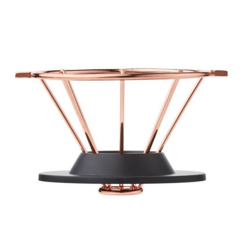 Barista & Co Beautifully Crafted Corral Pour Over Coffee Maker Copper